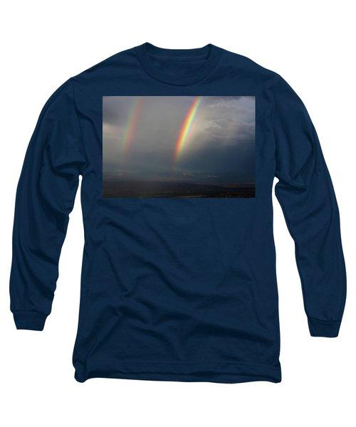 Two Rainbows Long Sleeve T-Shirt