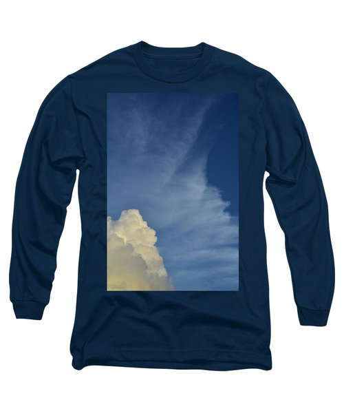 Two Tone Clouds 9384 Long Sleeve T-Shirt