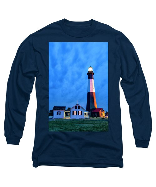 Tybee Island Lighthouse Long Sleeve T-Shirt by Phyllis Peterson