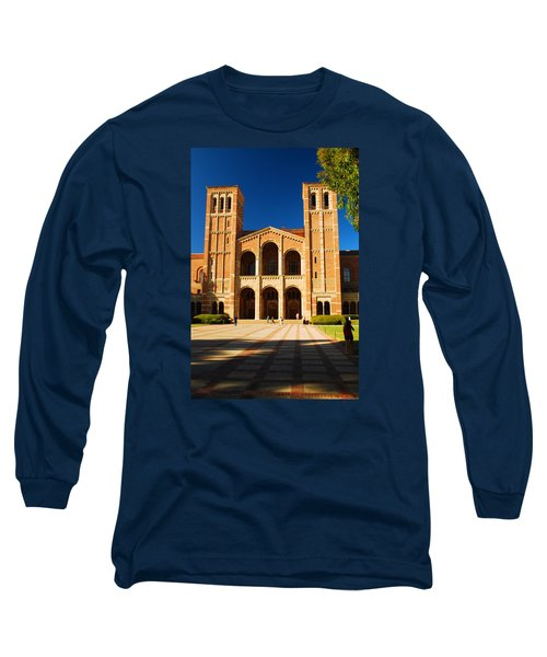 Long Sleeve T-Shirt featuring the photograph Ucla by James Kirkikis