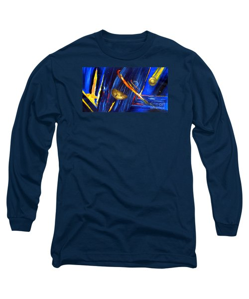 UFO Long Sleeve T-Shirt by Arturas Slapsys