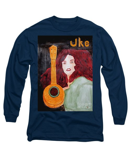 Uke Long Sleeve T-Shirt by Sandy McIntire