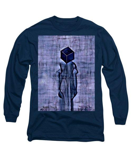 Unacknowledged Long Sleeve T-Shirt by Vennie Kocsis