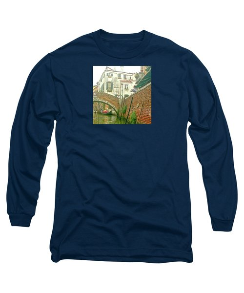 Long Sleeve T-Shirt featuring the photograph Under The Bridge by Anne Kotan