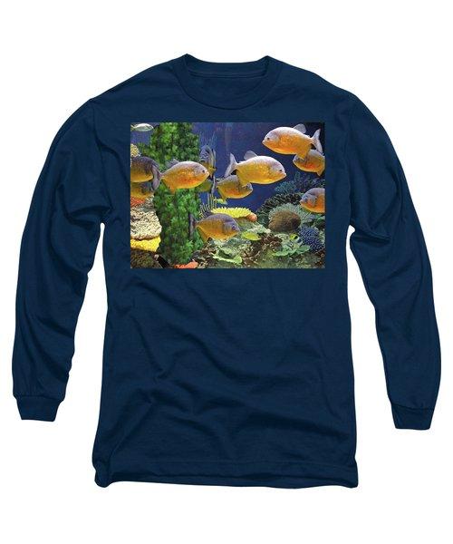 Under The Seen World 5 Long Sleeve T-Shirt