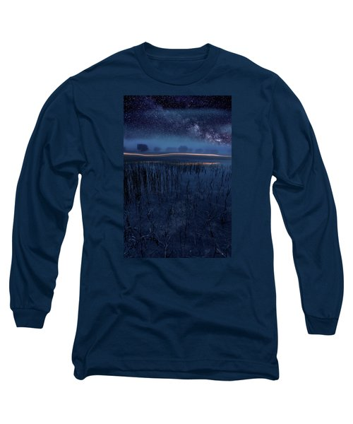 Under The Shadows Long Sleeve T-Shirt by Jorge Maia