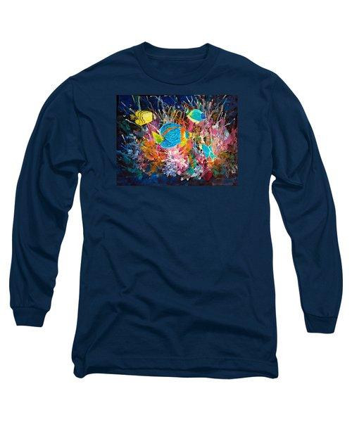 Underwater Sea Life Long Sleeve T-Shirt