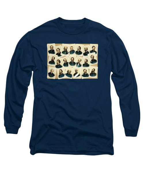 Union Commanders Of The Civil War Long Sleeve T-Shirt