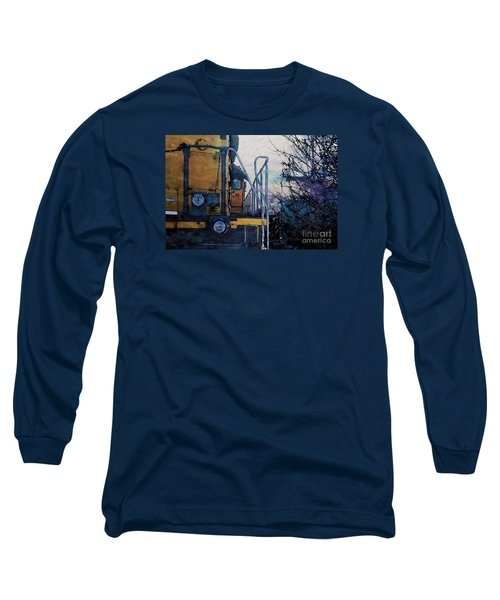 Union Pacific 1474 Long Sleeve T-Shirt by David Blank