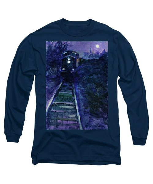 Union Pacific At Night Long Sleeve T-Shirt