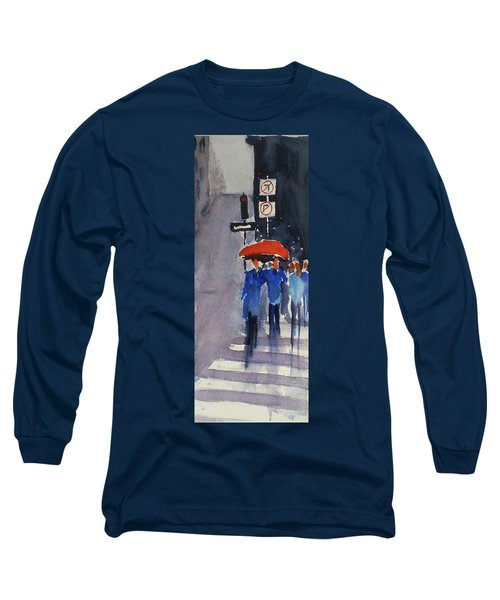 Union Square2 Long Sleeve T-Shirt by Tom Simmons
