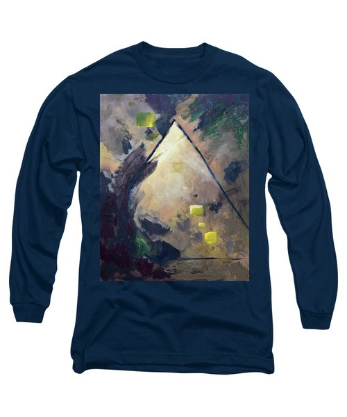 Untitled Abstract 730-17 Long Sleeve T-Shirt
