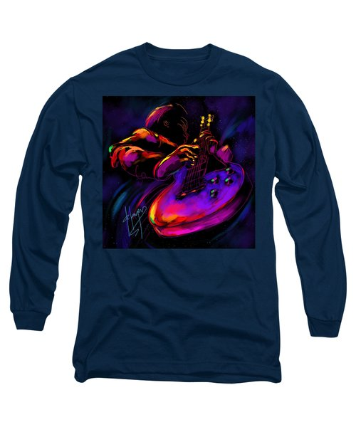 Untitled Guitar Art Long Sleeve T-Shirt