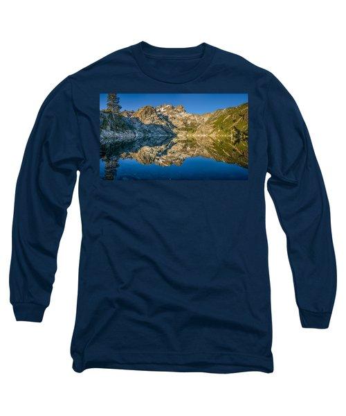 Upper Sardine Lake Panorama Long Sleeve T-Shirt