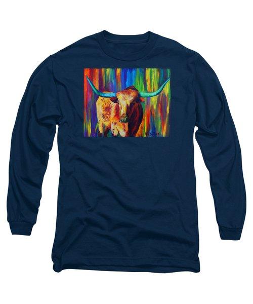 Uptown Longhorn Long Sleeve T-Shirt