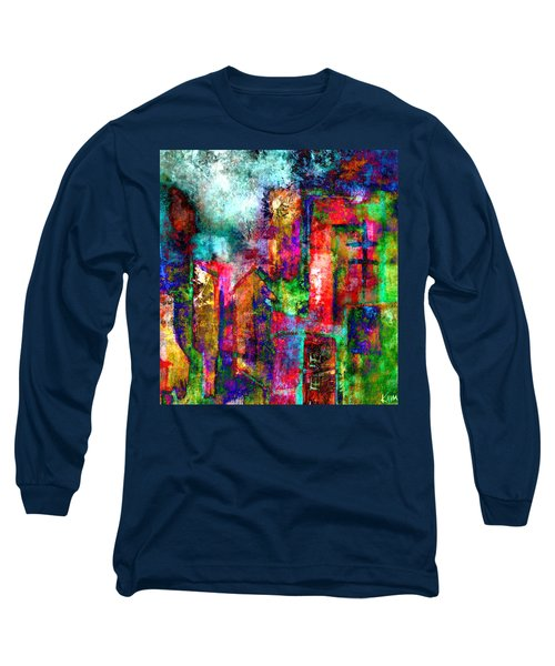 Urban #8 Long Sleeve T-Shirt by Kim Gauge