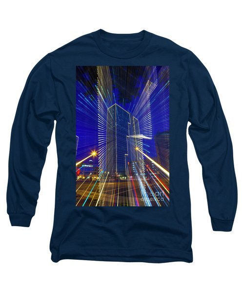 Urban Abstract Long Sleeve T-Shirt