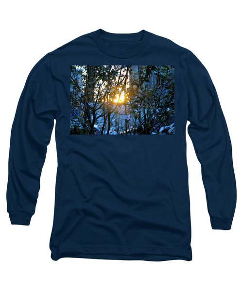 Long Sleeve T-Shirt featuring the photograph Urban Sunset by Sarah McKoy