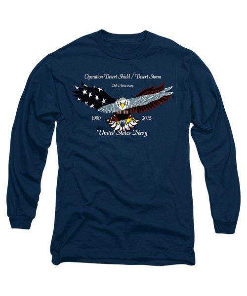Us Navy Desert Storm Long Sleeve T-Shirt