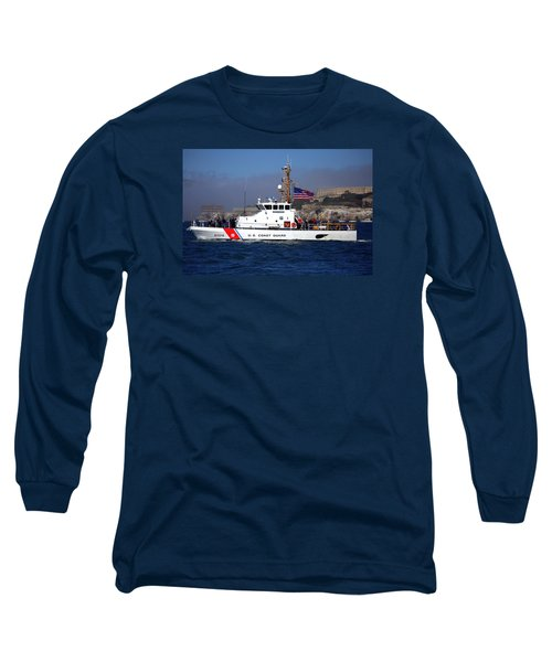 Uscg Hawksbill Patrols San Francisco Bay During Fleet Week Long Sleeve T-Shirt