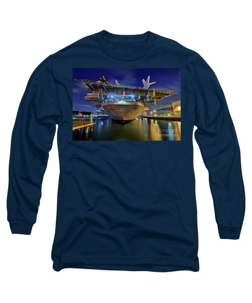 Uss Midway Aircraft Carrier  Long Sleeve T-Shirt