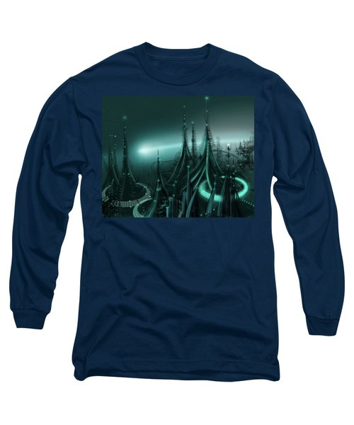 Utopia Long Sleeve T-Shirt by James Christopher Hill