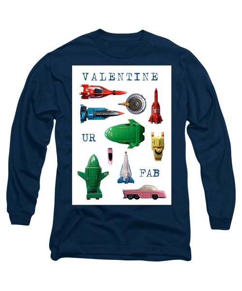 Valentine Ur Fab Long Sleeve T-Shirt by John Colley
