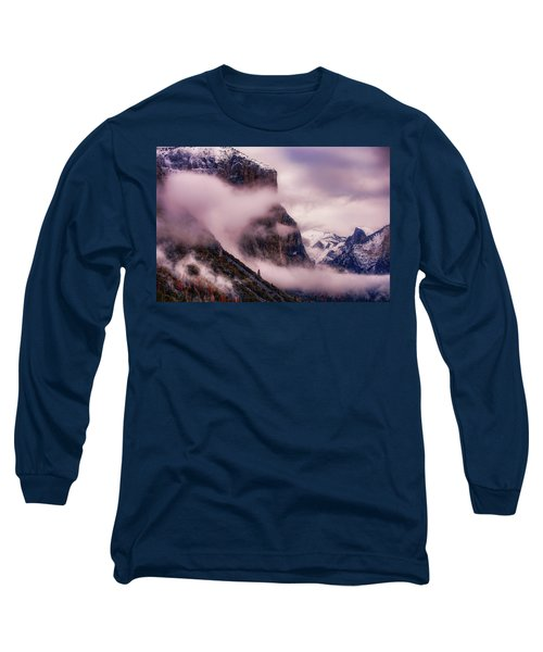 Valley Mood, Yosemite Long Sleeve T-Shirt by Vincent James