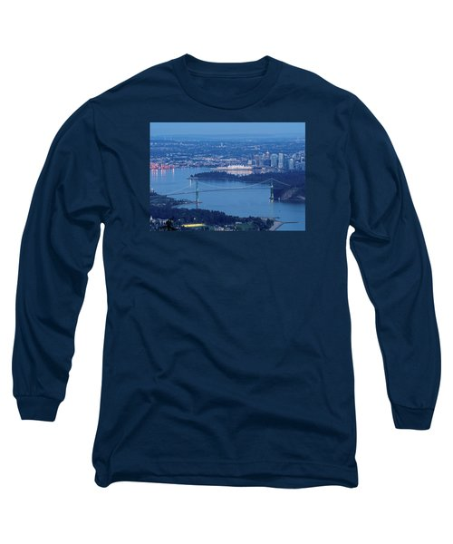 Vancouver Harbour Late Afternoon Long Sleeve T-Shirt
