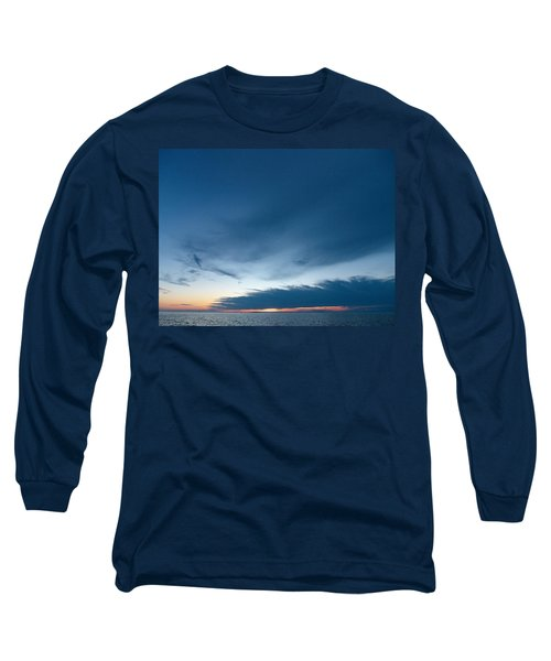 Long Sleeve T-Shirt featuring the photograph Variations Of Sunsets At Gulf Of Bothnia 4 by Jouko Lehto