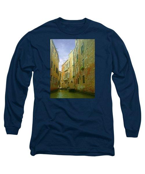 Long Sleeve T-Shirt featuring the photograph Venetian Canyon by Anne Kotan