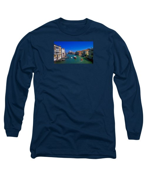 Long Sleeve T-Shirt featuring the photograph Venetian Highway by Anne Kotan