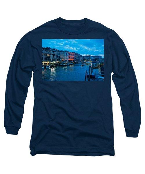 Long Sleeve T-Shirt featuring the photograph Venice Evening by Eric Tressler