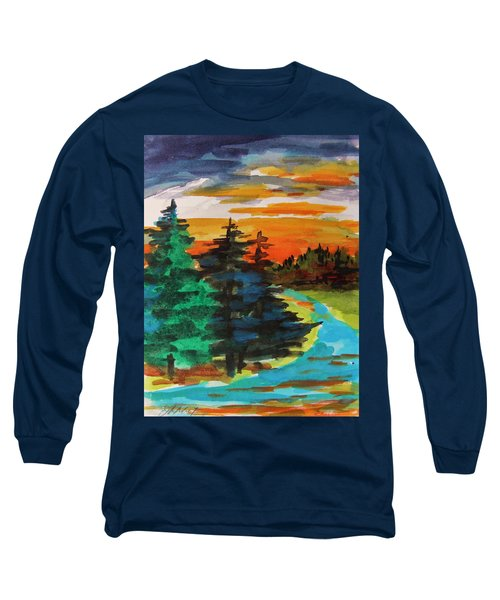 Very Quiet Long Sleeve T-Shirt by John Williams