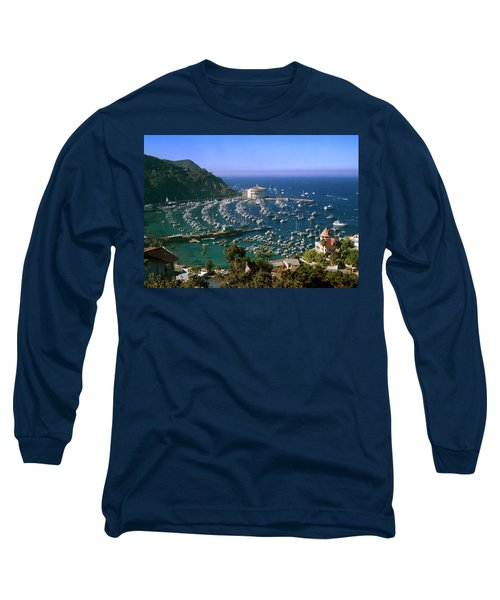 View Of Avalon Harbor Long Sleeve T-Shirt