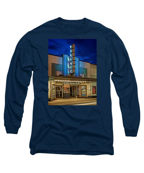 Village Theater Long Sleeve T-Shirt by Jerry Gammon
