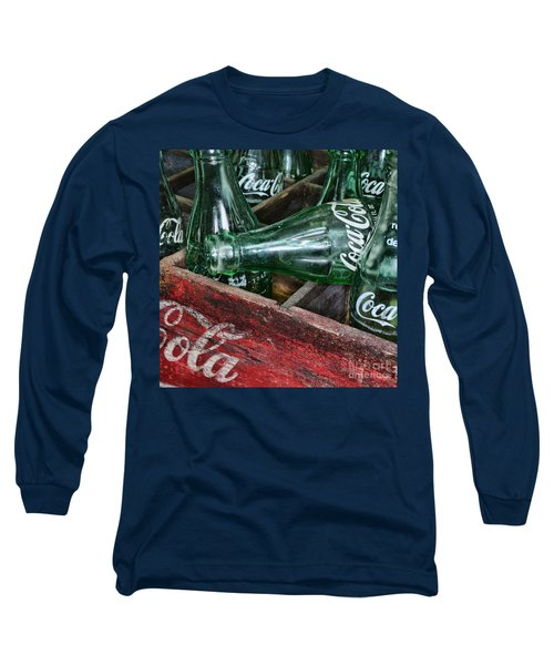 Vintage Coke Square Format Long Sleeve T-Shirt