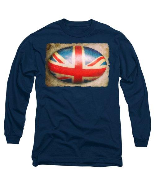 Vintage Flag Long Sleeve T-Shirt