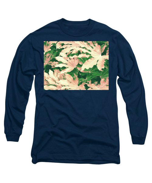Vintage Season Pink Long Sleeve T-Shirt