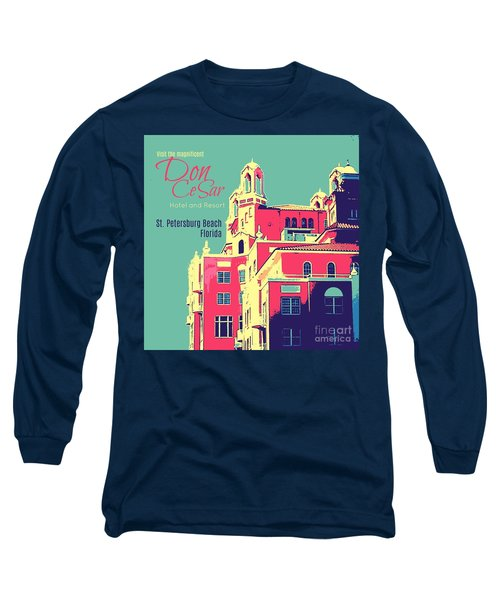 Visit The Don Cesar Long Sleeve T-Shirt