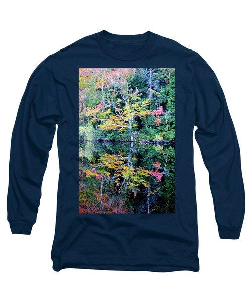 Vivid Fall Reflection Long Sleeve T-Shirt