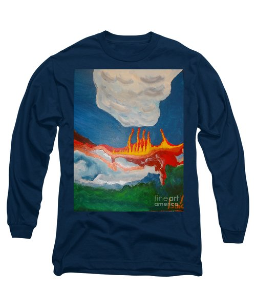 Volcanic Action Long Sleeve T-Shirt
