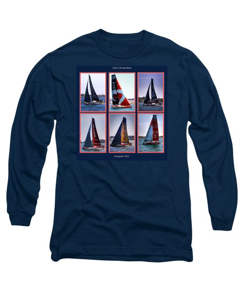 Volvo Ocean Race Newport 2015 Long Sleeve T-Shirt