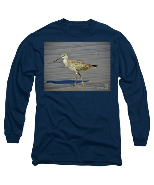 Wading Day Long Sleeve T-Shirt by Sheila Ping