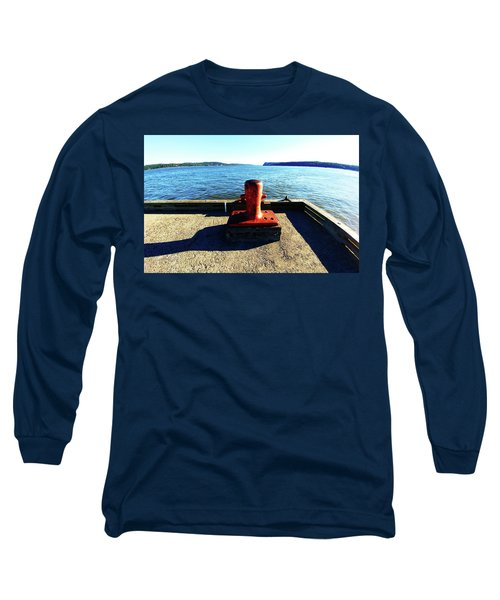 Waiting For The Ship To Come In. Long Sleeve T-Shirt