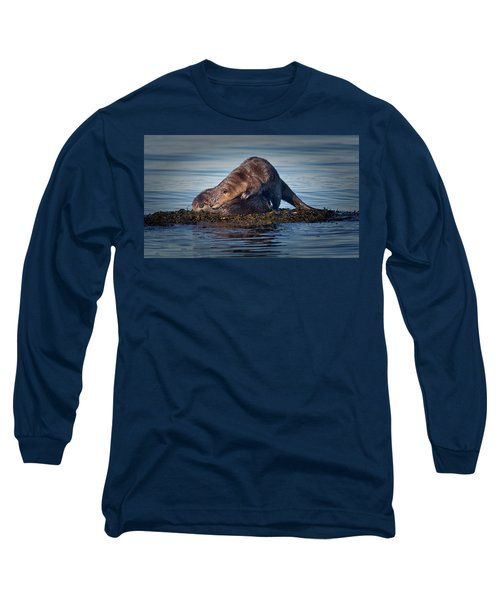 Long Sleeve T-Shirt featuring the photograph Wake Up by Randy Hall