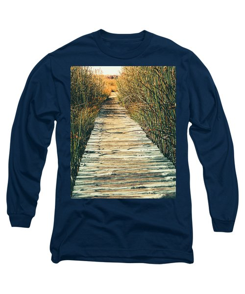 Long Sleeve T-Shirt featuring the photograph Walking Path by Alexey Stiop
