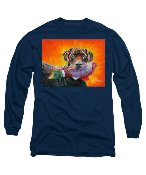 Wannabe Retriever Great Dane Long Sleeve T-Shirt