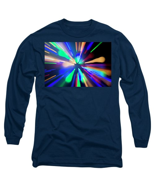 Long Sleeve T-Shirt featuring the photograph Warp Factor 1 by Shara Weber