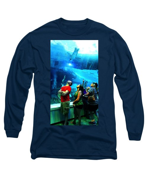 Watching The Penguins Fly Long Sleeve T-Shirt